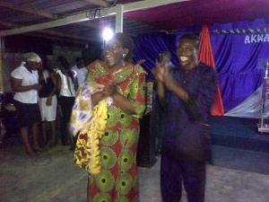 Pastor Yide and Pastor Sam