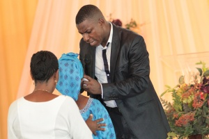 Pastor Nwachukwu Praying