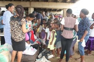 Clothes Distribution to Children