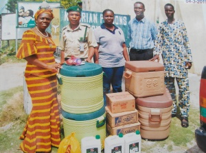 Gift material for Prisoners Handed Over to Prison Warders